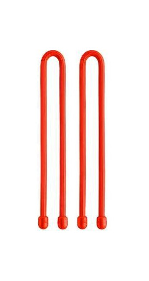 Nite Ize Gear Tie 24 (2-pack) Bright Orange